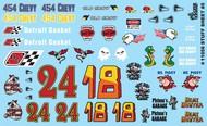 Gofer Racing  1/24-1/25 Stuff Sheet #5 - Chevy, Detroit Gasket, Hemi Hunter, etc. GOF11056