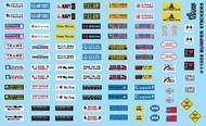 Gofer Racing  1/24-1/25 Bumper Stickers GOF11058