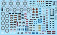 Car Detailing Decals (Under the Hood, Brakes, AC Vents, Radio, etc.) #GOF11065