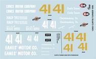 Gofer Racing  1/24-1/25 1950 Olds Curtis Turner Graphics (D)<!-- _Disc_ --> GOF12003