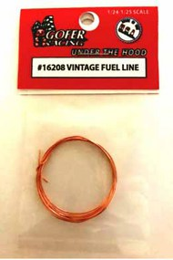 Gofer Racing  1/24-1/25 Vintage Copper Fuel Line GOF16208