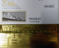 Gold Medal Models  1/485 USS Yorktown class detail - Revell Kit GMM48004