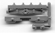 Grandt Line Accessories  HO D&RGW/RGS Short Caboose End Detail, Bolster, Needlebeam  (1) GRN5090