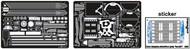 Green Strawberry  1/537 Star Trek USS Enterprise NCC1701A Refit Detail Set GSW7119