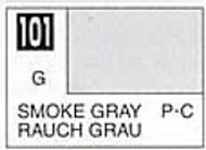 Solvent-Based Acrylic Gloss Smoke Gray 10ml Bottle GUZ101