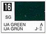 Gunze Sangyo  Gunze Semi-Gloss Solvent-Based Acrylic Semi-Gloss IJA Green 10ml Bottle GUZ16