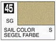 Gunze Sangyo  Gunze Semi-Gloss Solvent-Based Acrylic Semi-Gloss Sail Color 10ml Bottle GUZC045
