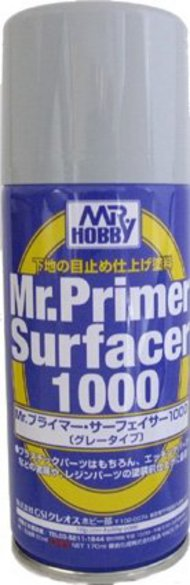 Gunze Sangyo  Gunze-Surfacer Mr. Primer Surfacer 1000 170ml (Spray) GUZ524
