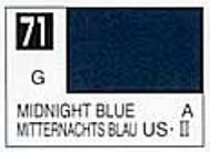 Gunze Sangyo  Gunze Gloss Solvent-Based Acrylic Gloss Midnight Blue 10ml Bottle GUZC071
