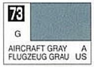 Gunze Sangyo  Gunze Gloss Solvent-Based Acrylic Gloss Aircraft Gray  10ml Bottle GUZC073