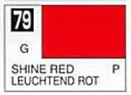 Gunze Sangyo  Gunze Gloss Solvent-Based Acrylic Gloss Shine Red 10ml Bottle GUZC079