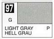 Gunze Sangyo  Gunze Gloss Solvent-Based Acrylic Gloss Light Gray 10ml Bottle GUZC097