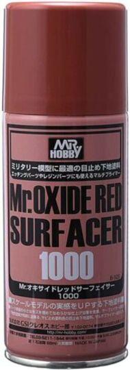 Gunze Sangyo  Gunze-Surfacer Mr. Oxide Red (Rust) Surfacer 1000 170ml (Spray) GUZB525