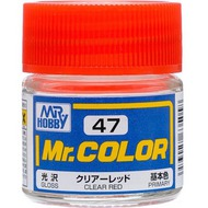 Mr Color Gloss Clear Red 10ml #GUZC47