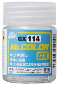 Super Smooth Clear Flat 18ml Bottle #GUZGX114