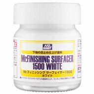 Gunze Sangyo  Gunze-Surfacer Mr Finishing Surfacer 1500 Liquid White 40ml GUZSF291