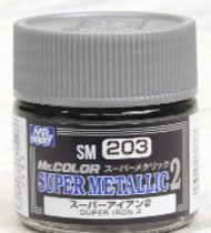 Super Metallic 2 Iron Lacquer 10ml Bottle #GUZSM203
