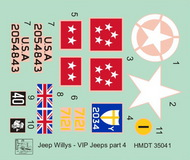 Willys Jeep MB/Ford GPW: VIP Jeeps, Pt.4 #HMT35041