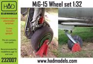 MiG-15bis wheel set #HUN232007