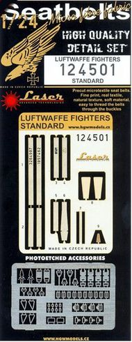 HGW Models  1/24 Luftwaffe Fighters - Belts Early/Standard (la HGW124501