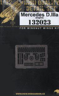 Mercedes D.IIIa engine details #HGW132023