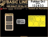 Fokker Dr.I Triplane [lane BASIC LINE: seatbelts + masks #HGW132833