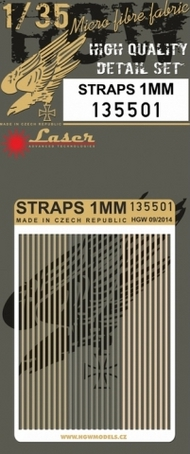 HGW Models  1/35 1mm Straps HGW135501