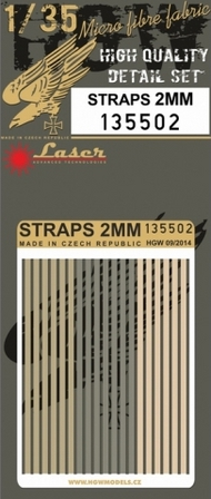 HGW Models  1/35 2mm Straps HGW135502