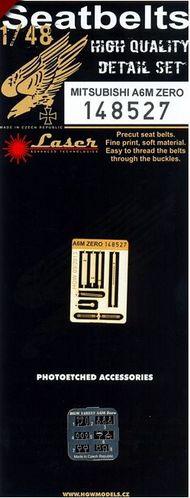 A6M ZERO Seat Belts (laser) (HAS/PEG/HBY/TAM) #HGW148527