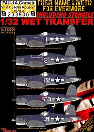 Vought F4U-1A Corsair VF-17 'Jolly Rogers' #HGW233906