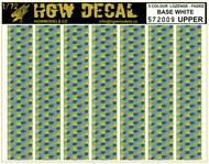 5 Colour Lozenge Upper - base white - sheet: A5 #HGW572009