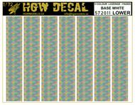 5 Colour Lozenge Lower - base white - sheet: A5 #HGW572011
