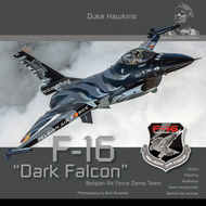 F-16 Dark Falcon Demo Team #DHSLE001