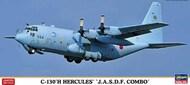Hasegawa  1/20 C-130H Hercules JASDF Transport Aircraft (2 Kits) (Ltd Edition) HSG10699