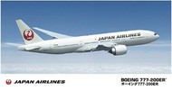 Hasegawa  1/200 B-777-200ER Japan Airlines Commercial Airliner HSG10801