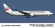 Hasegawa  1/200 Boeing 767-300ER with Winglet Japan Airlines HSG10812