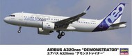 Hasegawa  1/200 Airbus A320ne Demonstrator Commercial Airliner HSG10823