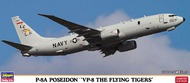 Hasegawa  1/200 P8A Poseidon VP8 Flying Tigers USN Anti-Submarine Aircraft (Ltd Edition) HSG10830