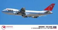Hasegawa  1/200 Boeing 747-200 Northwest Airlines HSG10840