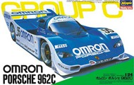 Hasegawa  1/24 Porsche 962C Omron Team Race Car (Ltd Edition) (D)<!-- _Disc_ --> HSG20280