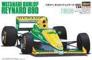 Hasegawa  1/24 Waranabe Dunlop Reynard 89D 1989 Japan F3000 Championship Race Car HSG20370