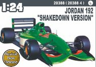 Hasegawa  1/24 Jordan 192 Shakedown Version Formula 1 Race Car HSG20388