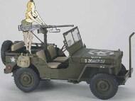 Hasegawa  1/24 US Army 1/4-Ton 4x4 Utility Truck w/Cal. 50 M2 Machine Gun & Resin Girl Figure (Ltd Edition) - Pre-Order Item HSG52283