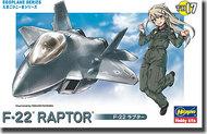 Hasegawa  misc Egg Plane F-22 Raptor HSG60127