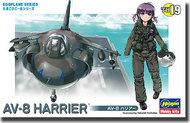 Hasegawa  misc Egg Plane AV-8 Harrier HSG60129