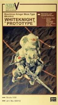 20 Robot Battle V: Maschinen Krieger Moon Type MK44H-O Whiteknight Prototype (Ltd Edition) #HSG64112
