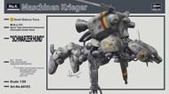 Hasegawa  1/20 Machinen Krieger Grober Hund 'Schwarzerhund' HSG64123