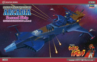 Space Pirate Battleship Arcadia 2nd Ship Phantom Death Shadow Conversion (Re-Issue) #HSG64508
