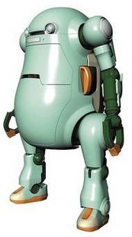 Hasegawa  1/20 Mechatro WeGo Robot No.1 Usumidon Lt Green HSG64512