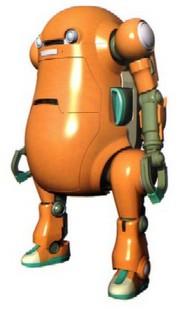 Hasegawa  1/20 Mechatro WeGo Robot No.2 Orange HSG64513